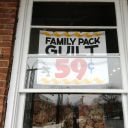 Family Pack Guilt 59¢